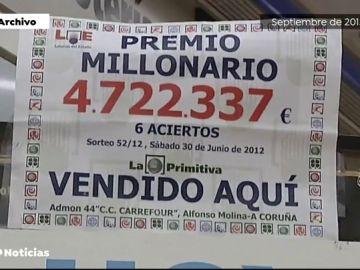 REEMPLAZO Buscan al ganador de un décimo de primitiva premiado con 4,7 millones de euros en A Coruña