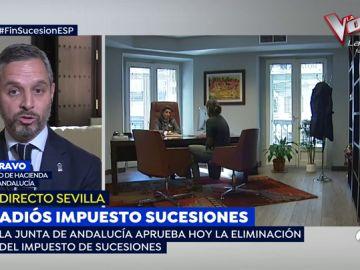 Javier Bravo, Consejero de Hacienda: