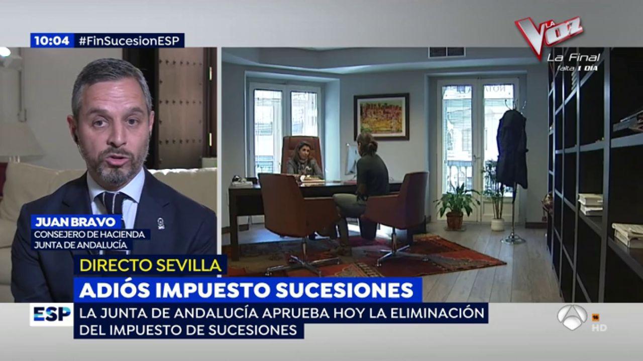 Javier bravo consejero de hacienda recibir una herencia for Espejo publico hoy completo
