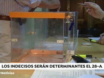 El 60% de los votantes de PP, Ciudadanos y Podemos no tiene claro que vaya a repetir su voto