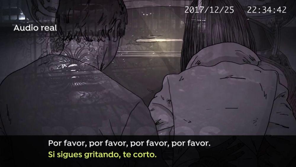 """Los audios del intento de rapto de 'El Chicle' a una joven en Boiro: """"Si sigues gritando, te corto"""""""