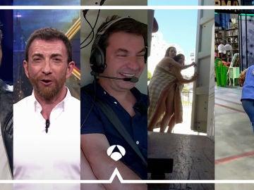 El mejor entretenimiento esta en Antena 3: 'El Hormiguero 3.0', 'Masters de la reforma', 'Por el mundo a los 80', 'El contenedor' y 'La Voz Senior'