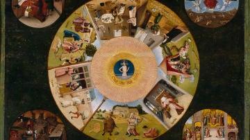 Mesa de los pecados capitales, El Bosco