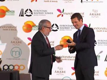 Casado recibe el premio especial Naranja 2018