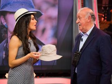Pilar Rubio sorprende a Vicente del Bosque con las últimas tendencias de moda