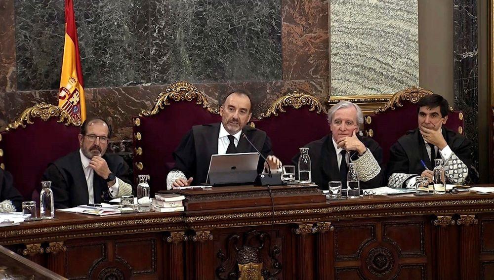 Vista del Tribunal Supremo durante el juicio del 'procés'.