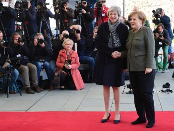 Theresa May y Angela Merkel