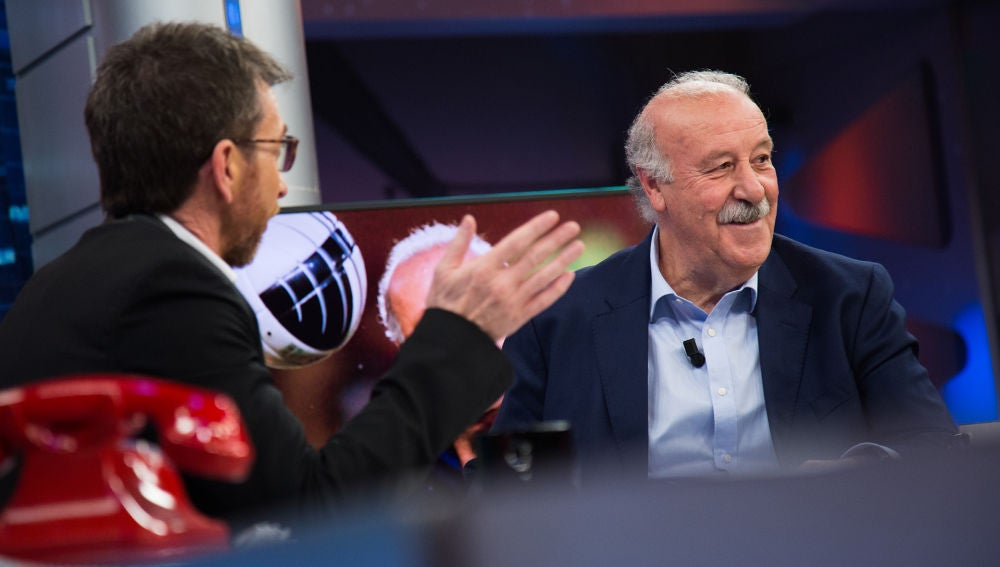 Vicente del Bosque confiesa en 'El Hormiguero 3.0' los tres motivos por los que rechaza entrar en política