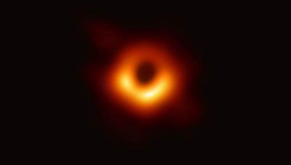 Fotografía del agujero negro