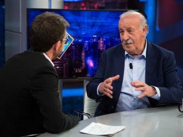Vicente del Bosque se sincera en 'El Hormiguero 3.0': ¿Quién manda en un equipo, el entrenador o los jugadores?