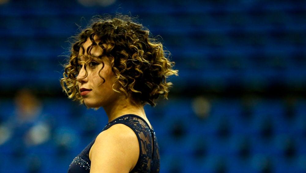 La gimnasta Katelyn Ohasi