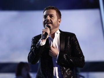Ángel Cortés en la Final de 'La Voz'