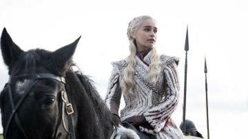 Emilia Clarke en la temporada final de 'Juego de Tronos'