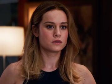 Capitana Marvel en 'Vengadores: Endgame'