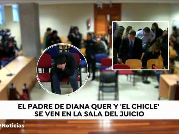 Así se ha comportado 'El Chicle' durante el juicio por el intento de secuestro de la chica de Boiro