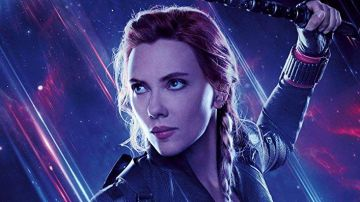 Scarlett Johansson en 'Vengadores: Endgame'