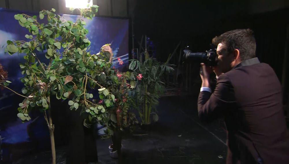 El increíble shotting que Arturo Valls le realiza Xabi en '¡Ahora Caigo!'