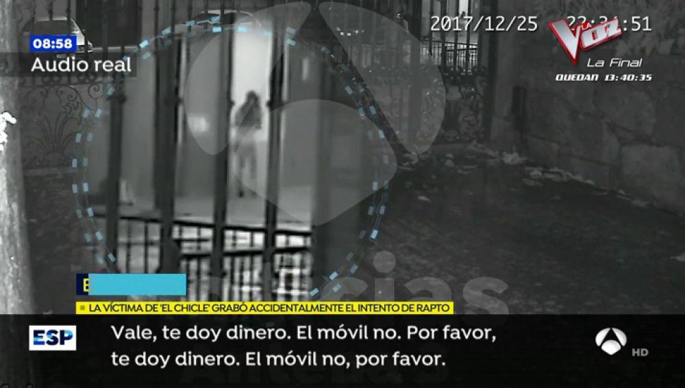 """Espejo Público accede en exclusiva a la grabación del intento de rapto de 'El chcicle' con  las voces reales: """"Si sigues gritando, te corto"""""""