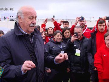 La sorpresa de Vicente del Bosque a jugadores con discapacidad intelectual