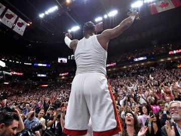 Dwyane Wade se despide de la afición de Miami