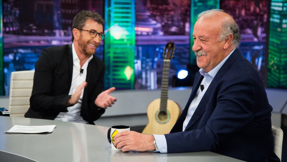 Vicente del Bosque revela en 'El Hormiguero 3.0' por qué se quitó el bigote tras 46 años sin afeitarse