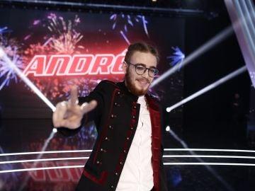 Andrés Martín, ganador de 'La Voz'
