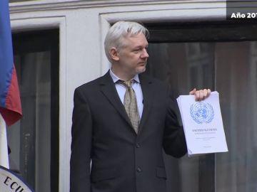 El impresionante cambio de Julian Assange tras siete años en la embajada de Ecuador