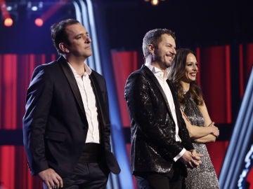 Javi Moya y Ángel Cortés se quedan a las puertas de ganar la gran Final de 'La Voz'
