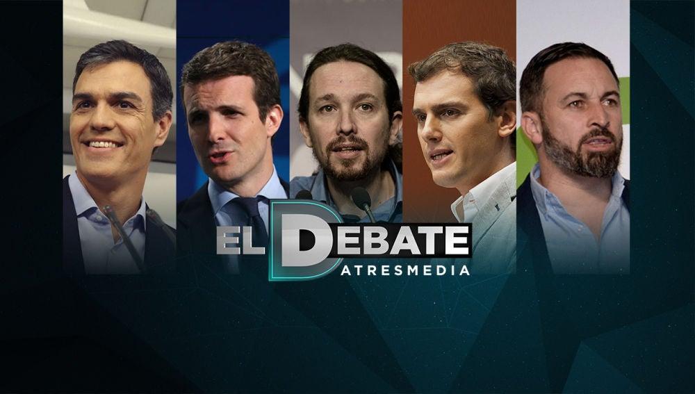 Sorteo de 'El Debate de Atresmedia'