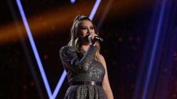María Espinosa en la Final de 'La Voz'
