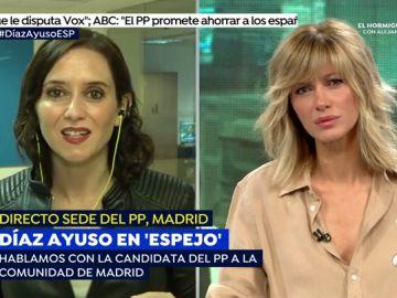 Díaz Ayuso en Espejo Público