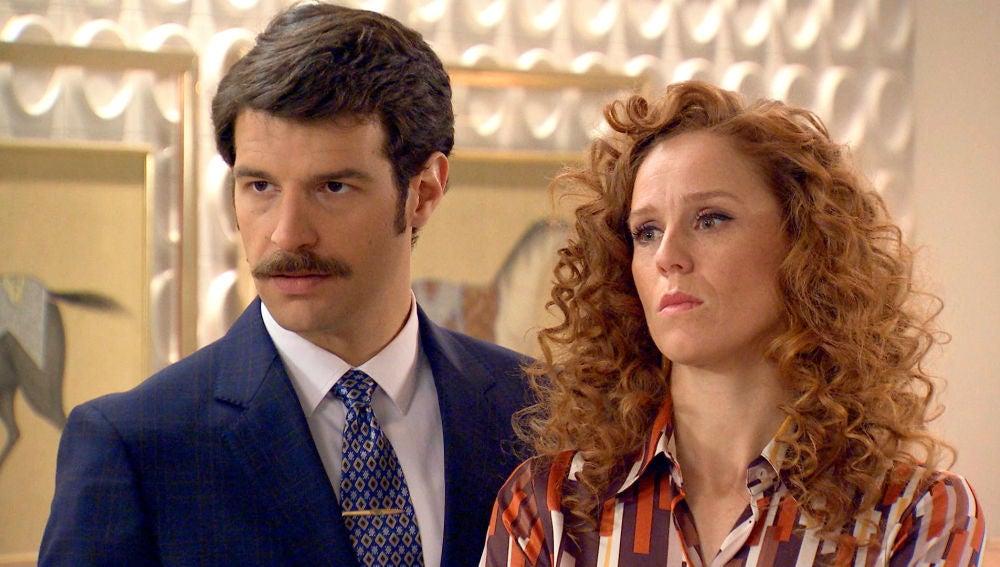 """Gabriel le propone a Ana y Carlos una tregua: """"Ahorradme el trago de vivir con un traidor y una impostora"""""""