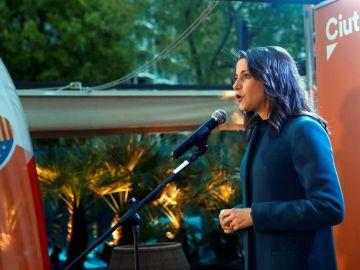 La cabeza de lista de Ciudadanos al Congreso por Barcelona, Inés Arrimadas