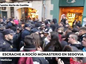 Rocío Monasterio sufre un escrache en Segovia