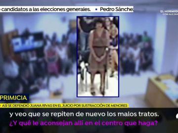 La declaración de Juana Rivas