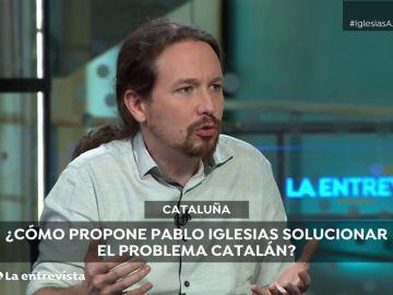 """Iglesias apoya un referéndum sobre Cataluña en toda España: """"Sería bueno y muy saludable"""""""