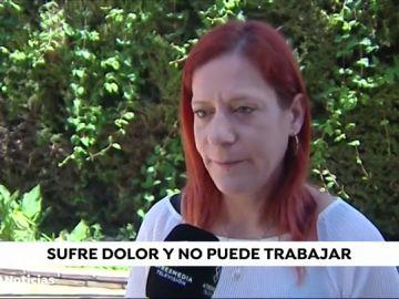 Una mujer lleva ocho años esperando una operación de mano en un hospital de Málaga