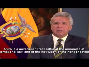 Ecuador confirma que ha retirado el asilo a Assange