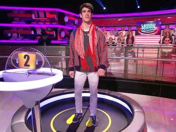 Nacho Zagales se pone flamenco en una 'palabra gallina' exclusiva para él en '¡Ahora caigo!'