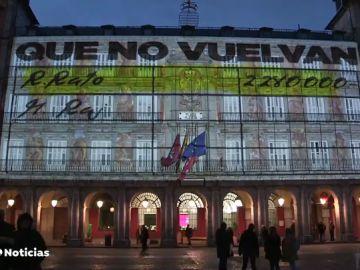 La Junta Electoral sanciona al Ayuntamiento de Madrid por la proyección del vídeo de Podemos