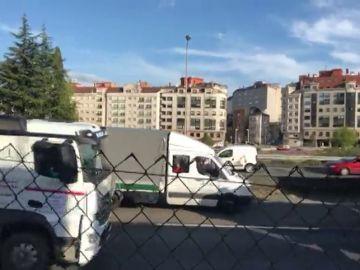 Colapsan Pontevedra en protesta por el posible cierre de Ence