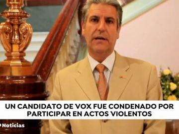 El número uno de Vox al Senado por Barcelona fue condenado por participar en actos violentos de extrema derecha