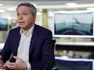 """Vicente Vallés: """"Lo más importante en el trabajo de un moderador es hacer las preguntas que los votantes están esperando que se hagan"""""""