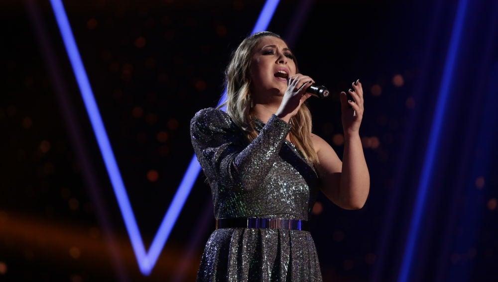 María Espinosa canta 'Amiga mía' en la Final de 'La Voz'