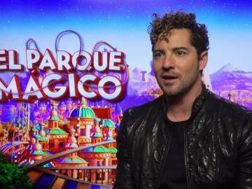 David Bisbal es la voz de 'El parque mágico'