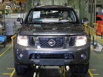 Factoría de Nissan en la Zona Franca de Barcelona