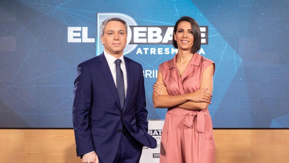 Vicente Vallés y Ana Pastor moderarán El Debate