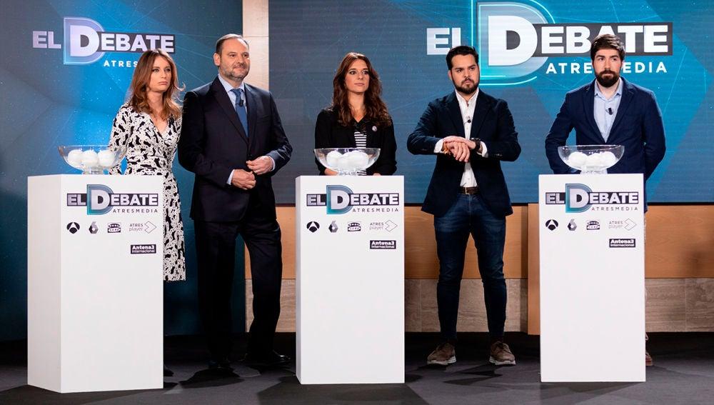 El Debate de Atresmedia - Sorteo de 'El Debate de Atresmedia'