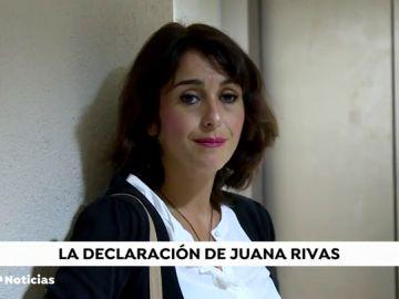"""El juez, a Juana Rivas: """"Pero, ¿a usted nadie le comentó que estaba cometiendo un delito?"""""""