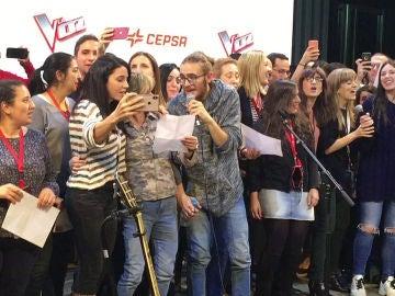 La primera actuación de Andrés Martín después de coronarse como ganador de 'La Voz'